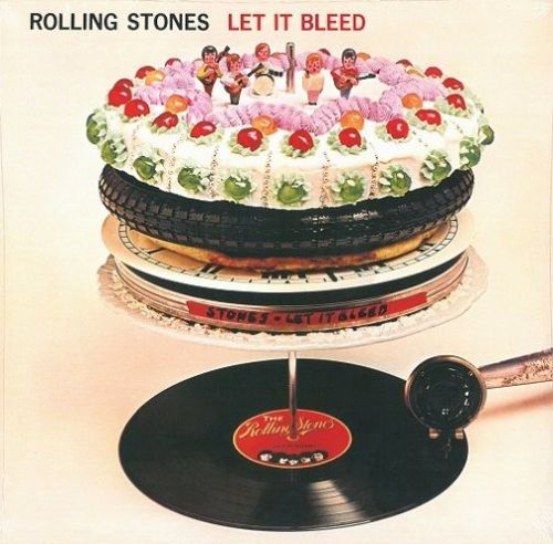 THE ROLLING STONES Let It Bleed Vinyl Record LP Abkco 2003